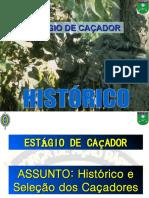 Histórico do Caçador