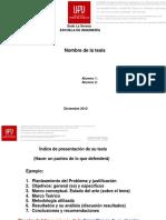 Defensa Tes is 2014