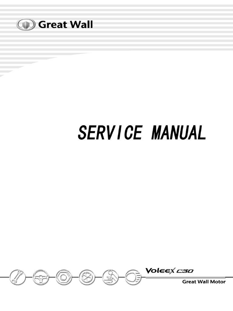 voleex c30 service manual airbag seat belt
