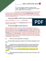 Post-Discussion BMB 411 Fall 2017 Paper Four Tarek Ghaddar.docx