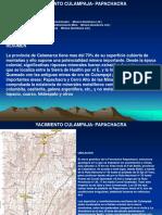 Yacimiento Culampaja-papachacra 2014