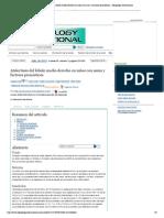 Atelectasia del lóbulo medio derecho en niños con asma y factores pronósticos - Alergology International