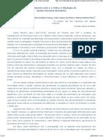 A Análise de Dante Moreira Leite Sobre a Ideologia Do Caráter Nacional Brasileiro é Feita a Partir Do Percurso Histórico Das i