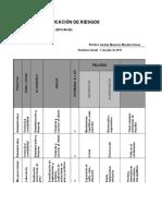 Matriz de Riesgos SGSST