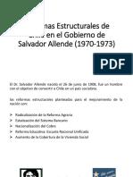 Reformas Estructurales de Chile en El Gobierno De Allende
