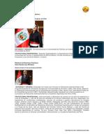 Presidencia Del Consejo de Ministros ARAOS