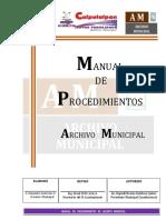 Manual de Procedimientos Archivo 2017-2021 Definitivo