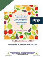 BASES DE PARTICIPACIÓN DEL 5°  SEMINARIO REGIONAL DE BIENESTAR Y VIDA SANA