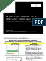 Petunjuk Singkat Post Test Pkb Update 12 Oktober
