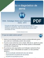 Definição e Diagnóstico de Asma GINA 2017
