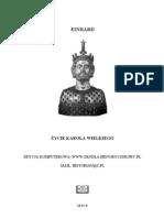 Einhard - Żywot Charlemagne'a