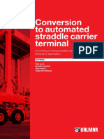 Conversion to Automated Straddle Carrier Terminal
