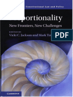 (Comparative Constitutional Law and Policy) Vicki C. Jackson, Mark Tushnet-Proportionality. New frontiers, new challenges-Cambridge University Press (2017).pdf