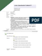Fundamento da Gestão Financeira Prova IV