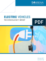 IRENA Electric Vehicles 2017