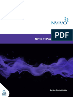 NVivo11 Getting Started Guide Plus Edition