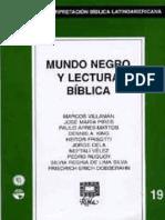 Ribla 19 Mundo Negro y Lectura Biblica