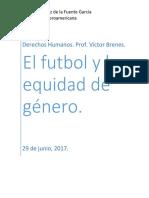 Equidad de Genero y Futbol
