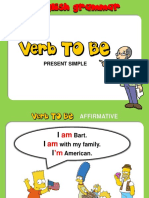verb to be simpson
