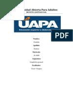 Cuaderno Practico III. Linguistica