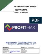 ProfitMart DEMAT