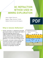 Seismic Refraction Method Used in Mining Exploration