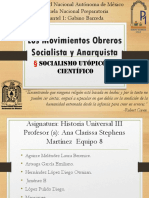 Los Movimientos Obreros Socialista y Anarquista