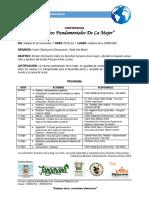 Invitacion Programa Conferencia Dfm