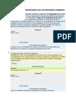 Autoevaluación Tr046 Gestión Estratègica de Los Recursos Humanos