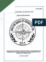 62 CO AV-0306 Requisitos Para Obtener Autorizacion Para La Realizacion de Las Operaciones de Vuelos de Largo Alcance Con