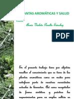 Plantas Aromaticas y Salud