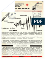 Sismos Colombia