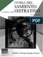 historia del pensamiento administrativo.pdf