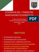 3.- Ecografia i Trimestre - Marcadores Ecograficos