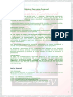 Danza y Expresion Corporal Prologo e Indices