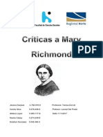 Críticas a Mary Richmond