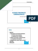 bloques funcionales combinacionales
