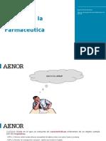 6 AENOR Calidad en La Industria Farmaceutica
