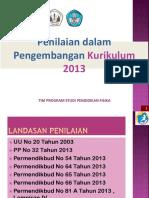 Penilaian sikap 2013