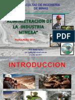 Administraci�n de Empresas Mineras (1)