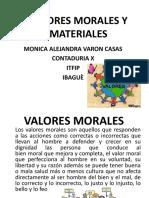 Valores Morales y Materiales