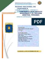 Contratos Mercatiles y Arbitraje en El Peru1 1