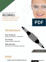 Embracing Millennials Handout