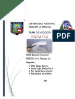 Plan de Negocio-biopaper