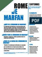 sindrome marfan
