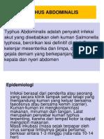 Typhus Abdominalis 2003