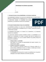 Conceptos de Probabilidad y Aplicaciones