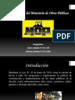 Normativas Del Ministerio de Obras Públicas