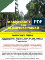 Dasar Ilmu Tanah Morfologi Dan Klasifikasi