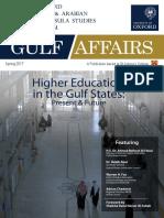 Gulf Affairs Spring 2017 Full Issue